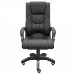 Кресло для офиса Zeta Зевс эко-кожа красный