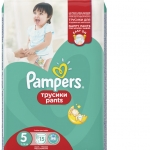Подгузники-трусики Pampers Pants Размер 5 (Junior) 11-18 кг, 15
